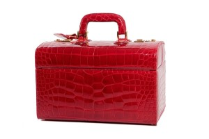 Jada Loveless, Jada Loveless handbag, handbag, Cielle, Cielle Train Case, Train Case, Luggage, Jada Loveless luggage, Alligator