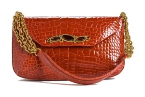 Jada Loveless Collette, Collette, Collette shoulder bag, cinnabar alligator, alligator bag, alligator shoulderbag, collette alligator, jada loveless classic collection, jada loveless, jada loveless handbag