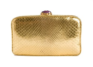 josephine clutch, josephine gold python, Jada loveless python, jada loveless clutch, jada loveless handbag, python, gold python bag, gold python clutch, python clutch, gold clutch, jada loveless resort, resort collection, jada loveless resort