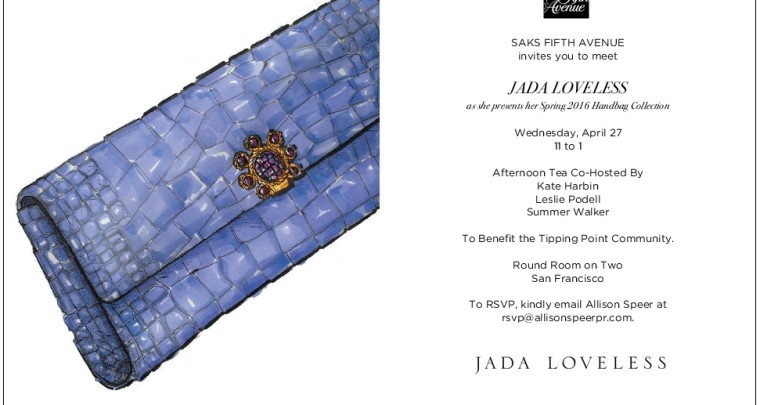 Please Join Us at Saks in San Francisco!