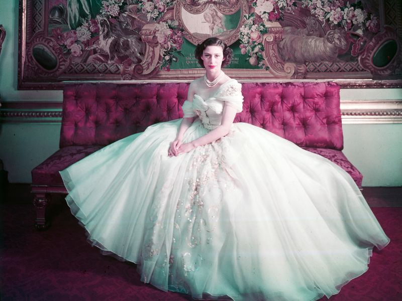 Princess Margaret (1930-2002), photo Cecil Beaton (1904-80), London, UK, 1951. (Cecil Beaton, Victoria and Albert Museum, London)
