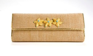 jada Loveless classic petite clutch, jada loveless clutch, classic petite clutch, jada loveless handbag, jada loveless petite clutch, jada loveless resort, resort clutch, raffia clutch